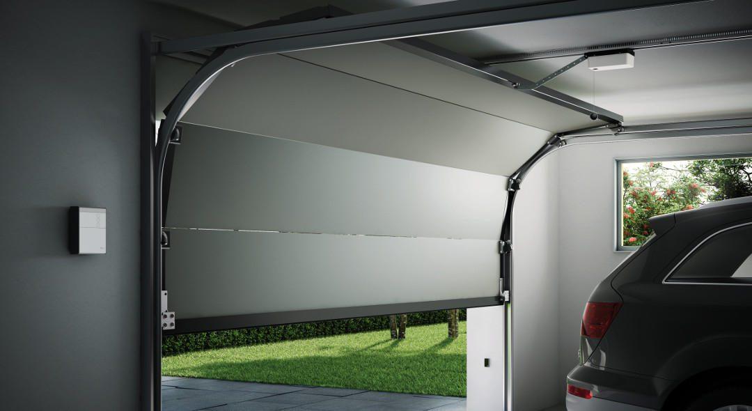 Spy el primer motor nice de arrastre para puertas de - Motor para puertas de garaje ...