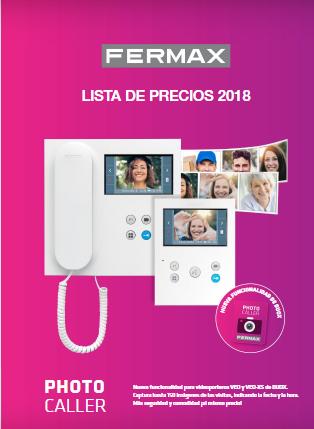 NUEVA LISTA DE PRECIOS FERMAX 2018